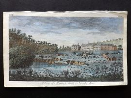 UK 1777 Hand Col Print. A View of Matlock Bath in Derbyshire